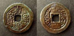 CHINA -  JIA KING TONG BAO  -  XINJIANG 1 CASH -  AKSU - Rev : AKSU  -  COPPER QING DYNASTY - SINKIANG CHINE - China