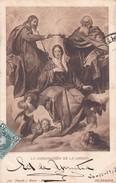LA CONORACION DE LA VIRGEN, VELAZQUEZ. HAUSER Y MENET-CIRCULEE TO MONTEVIDEO-TBE-BLEUP - Pintura & Cuadros