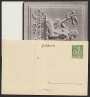 """Mi-Nr. PP 63 C 1/01 +/01, """"Ausstellung Berlin"""" 1922, Beide Varianten, * - Deutschland"""