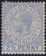 Gibraltar      .      SG     .     94     .     *       .     Ongebruikt    .    /    .    Mint-hinged - Gibraltar