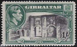 Gibraltar      .      SG     .     127  Perf.  14       .     *       .     Ongebruikt    .    /    .    Mint-hinged - Gibraltar