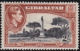 Gibraltar      .      SG     .     128    Perf.  14       .     *       .     Ongebruikt    .    /    .    Mint-hinged - Gibraltar