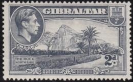 Gibraltar      .      SG     .     124a  Perf.  13 1/2      .     *       .     Ongebruikt    .    /    .    Mint-hinged - Gibraltar