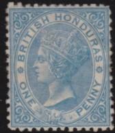 British  Honduras      .      SG     .     5     .     *       .     Ongebruikt    .    /    .    Mint-hinged - Brits-Honduras (...-1970)