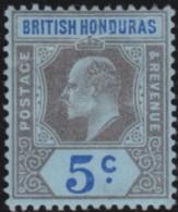 British  Honduras      .      SG     .     82        .     *       .     Ongebruikt    .    /    .    Mint-hinged - Brits-Honduras (...-1970)