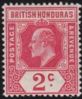 British  Honduras      .      SG     .     96       .     *       .     Ongebruikt    .    /    .    Mint-hinged - Brits-Honduras (...-1970)