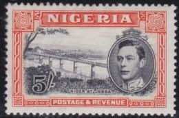 Nigeria      .      SG     .    59a     P. 13 1/2      .     *       .     Ongebruikt    .    /    .    Mint-hinged - Nigeria (...-1960)