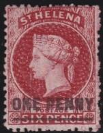 St  Helena      .      SG     .    6      .     (*)     .    Geen Gom    .    /    .    No Gum - Sint-Helena