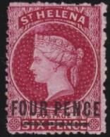 St  Helena      .      SG     .    14      .        (*)     .    Geen Gom    .    /    .    No Gum - Saint Helena Island