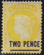 St Helena   .      SG     .     22          .        *     .      Ongebruikt      .    /    .    Mint-hinged - Saint Helena Island