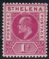 St Helena   .      SG     .     54       .        *     .      Ongebruikt      .    /    .    Mint-hinged - Sint-Helena