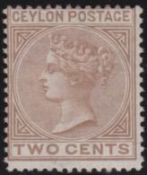 Ceylon     .      SG     .     121       .        *     .      Ongebruikt      .    /    .    Mint-hinged - Ceylon (...-1947)