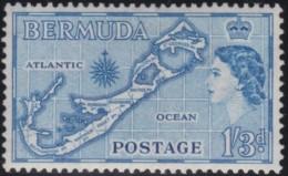 Bermuda        .      SG     .    145b        .     *      .     Ongebruikt   .    /    .      Mint-hinged - Bermuda