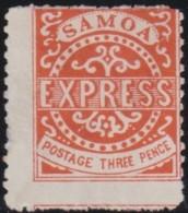 Samoa     .      SG     .   2        .      (*)      .  Geen  Gom      /    .    No  Gum - Samoa