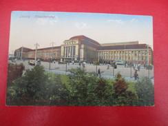 CPA  ALLEMAGNE LEIPZIG HAUPTBAHNHOF - Leipzig