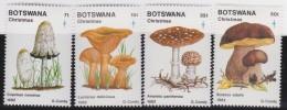 Botswana         .    SG     .  533/536       .      *    .     Ongebruikt   .    /    .      Mint-hinged - Botswana (1966-...)