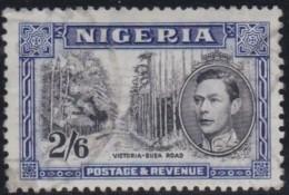Nigeria      .      SG        .   58   P 13 X 11 1/2   .       O       .      Gebruikt   .    /    .   Cancelled - Nigeria (...-1960)