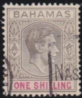 Bahamas        .      SG        .   155a   Thin       .       O       .      Gebruikt   .    /    .   Cancelled - Bahama's (1973-...)