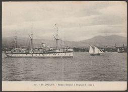 Bateau Hôpital 'Duguay-Tronin', Salonique, Grèce, C.1910s - Postcard CPA - Greece