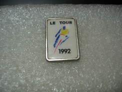 Pin's Vélos, Cyclisme: Tour En 1992 - Cycling
