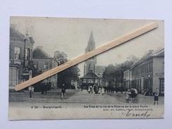 BOURG-LÉOPOLD Nº C 50»Vue Prise De Le Rue De La Régence Sur La Place Royale»très Animée,kiosque,(1907)Édit PH.Mahieu - Leopoldsburg