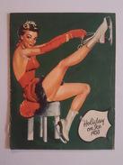 Programme Holiday On Ice 1953 - Pub Suze - Programmes