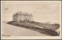 Atlantic Hotel, Newquay, Cornwall, C.1920s - Sparkes Postcard - Newquay