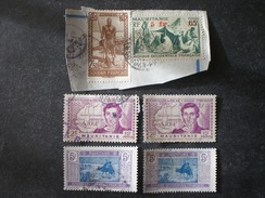 AOF MAURITANIA MAURITANIE موريتانيا Mauritanië 1944 Issues Of 1938 And 1939 Surcharged  + 1906 CAMEL - Mauritanie (1906-1944)