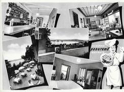 "Albergo Ristorante ""Panorama"" Garivate (Varese) - Multivues - Carte Non Circulée - Hotels & Restaurants"