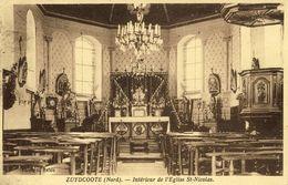 59 - Zuydcoote - Intérieur De L'Eglise St-Nicolas - Non Classificati