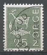 Norway 1963. Scott #420 (U) Rock Carvings - Norvège