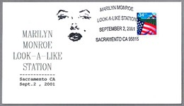 MARILYN MONROE LOOK-A-LIKE. Sacramento CA 2001 - Cinema