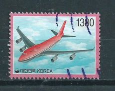 Korea Airplane,aviation,vliegtuig Used/gebruikt/oblitere - Korea (Zuid)