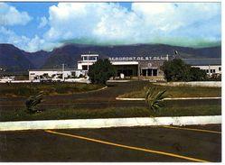 ILE DE LA REUNION  SAINT DENIS  AEROPORT DE GILLOT   -  CPM 1960 / 70 - Saint Denis