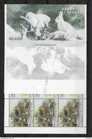 Aland 2017 Carnet Neuf Animaux De La Forêt - Aland