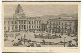 BOLIVIA ENTERO POSTAL STATIONARY  PALACIO DE GOBIERNO Y LEGISLATIVO - Bolivia