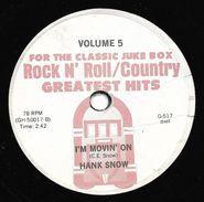 "Hank Ballard & The Midnighters / Hank Snow  ""  Finger Poppin' Time / I'm Movin On  "" - Special Formats"