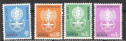 Indonesia 1962 Fight Against Malaria..  Mi 337-340, MNH(**) - Indonesia