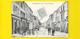 MARANS Rare La Rue D'Aligre (Prax) Chte Mme (17) - Autres Communes