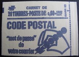 Lot FD/28 - CARNET (fermé) NEUF** - MARIANNE DE BEQUET 0,60 Fr - N°1815C1 - Cote : 100,00 € - Markenheftchen