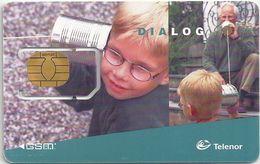 Norway - Telenor - Dialog GSM (TN-31B) SIM2 Mini Chip, Mint - Norway