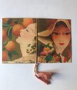 Calendarietto Barbiere Sirio Frutti Italiani Firmato 1941 - Non Classificati