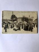 Cartolina Torino Piazza Emanuele Filiberto Il Mercato Viaggiata 1912 - Non Classificati