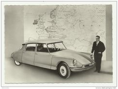 Autos Voitures Automobiles Cars - CITROËN DS - ID 19 Championne D' Europe - Paul Coltelloni - Voitures De Tourisme