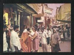 Pakistan Old Picture Postcard Bohri Bazar Karachi View Card - Pakistan
