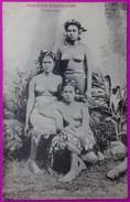 Cpa Vahiné Tahiti Femmes Aux Seins Nus Carte Postale Océanie Française Rare - Tahiti