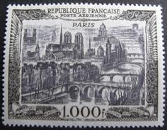 Lot FD/32 - 1950 - POSTE AERIENNE - VUE DE PARIS - N°29 NEUF** - Cote : 165,00 € - Airmail