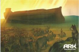 Ark Encounter.Christian Evangelical Theme Park. Grant County, Kentucky,USA. Postcard Addressed To Andorra - Etats-Unis