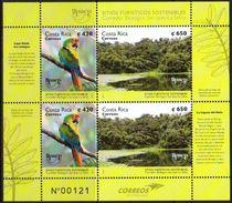 Costa Rica 2017 UPAEP Birds Parrot Minisheet MNH - Perroquets & Tropicaux