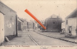 CARNIERES - Vue De Waressaix - Superbe Carte - Morlanwelz